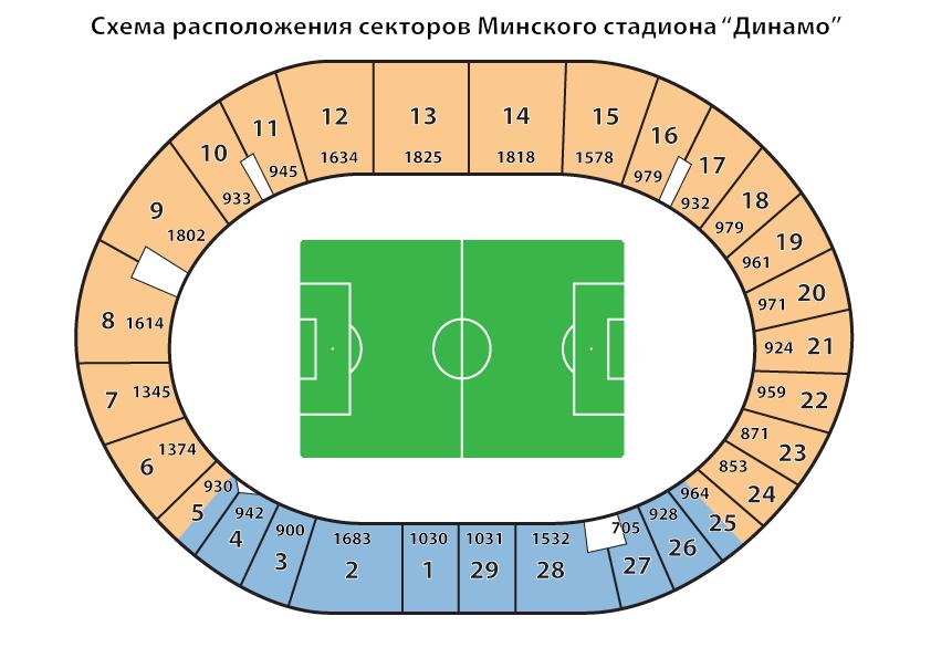 Минского стадиона Динамо